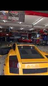 Lamborghini Gallardo Vented Decklid Supperleggera Parts Trunk Engine Cover Hood