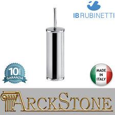 Porte brosse de toilette à partir du sol laiton chrome IB Rubinetti Moderne