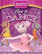 Angelina Ballerina LOVE TO DANCE (DVD 2010) Widescreen Sealed New