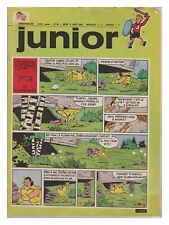 JUNIOR  1973 N°  32 09/08/1973 BE/BE+ les rois des aerostiers