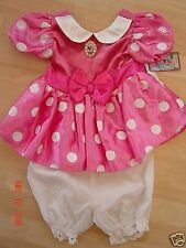 DISNEY STORE MINNIE MOUSE COSTUME SIZE 12 MONTH-NEW