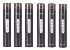 6x Morfose Haarspray Extra Strong Schwarz 400ml Friseur Spray Haar Styling