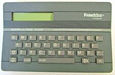 Franklin Computer Spelling Ace Sa-98 Linguistic Tech Spell Check Learn to Spell