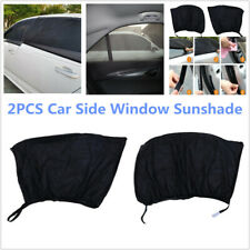 2PCS Car SUV Side Window Mesh Cover Shield Sun Visor Shade Sunshade UV Protector