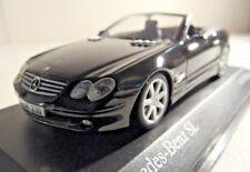1/43 Minichamps 2001 Mercedes Benz SL Black 1 of 1632 pcs New 400031031