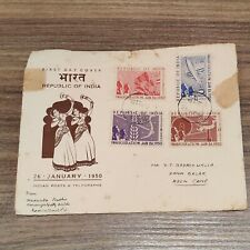 Inauguration of Republic of India – First Day Cover – 26th January 1950 #2