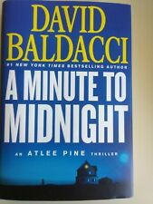 A Minute to Midnight by David Baldacci - NEW hardcover