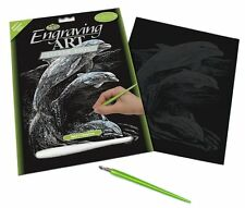 Royal and Langnickel - Engraving Art Set – Dolphins – Silver Foil