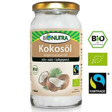 Bio Kokosöl Fairtrade (100% nativ und rein), kaltgepresstes Kokosfett