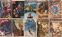 10 Comics Justice League 52 X-Men Veil Star Trek Superman Robin and more