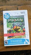 LIKE NEW - Pikmin 1 - Nintendo Wii or Wii U Game Refurbished - RARE VARIANT
