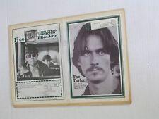Vintage ROLLING STONE Quarter fold Newspaper #76 JAMES TAYLOR 2.18.1971