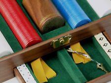 Vintage Griffon Poker Set with Lock & Key
