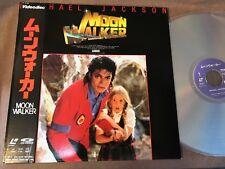 MICHAEL JACKSON Moonwalker JAPAN Laser Disc LD 70.4P-120 w/OBI Free S&H/P&P