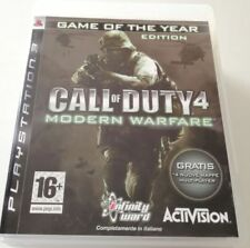 CALL OF DUTY 4 MODERN WARFARE GOTY GAME OF THE YEAR EDITION PS3 PLAYSTATION 3