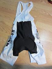 Ladies biking bib shorts Medium new w/ tag 42 Below Vodka padded cycling