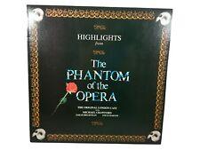"Phantom of the Opera Highlights Vinyl 12"" LP  Really Useful Group POLH33 1987"