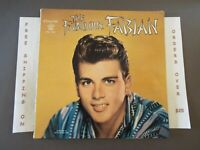 THE FABULOUS FABIAN ORIGINAL 1959 ISSUE LP W/ POSTER CHLX 5005