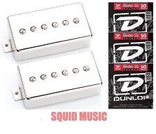 Seymour Duncan Phat Cat Nickel Cover Set SPH90-1b & SPH90-1n ( SETS OF STRINGS )