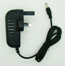 3 Pin UK plug AC/DC 6V 2A Charger Adapter Power Supply 5.5mm x 2.1mm