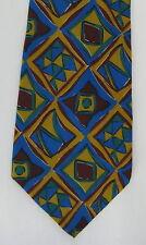 Metropolitan Museum of Art Mens Silk Neck Tie Necktie Diamonds Geometric