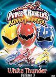 Power Rangers Dino Thunder, Vol. 3: White Thunder (DVD) SHIPS NEXT DAY