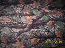 "New Multi Forest Winter Fleece fabric 1 yard 10"" x 58"" Piece"