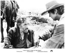 ONCE UPON A TIME IN THE WEST still HENRY FONDA & JASON ROBARDS -- (n347)