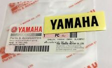 100% GENUINE YAMAHA 50mm x 12mm SMALL BLACK DECAL STICKER BADGE LOGO