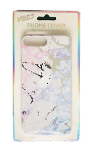 Vibes Pink & Purple Marble Mirror Phone Case For iPhone 6/6s/7/8 Plus BRAND NEW