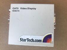 StarTech.com CAT5 Audio Video Display REMOTE P/N: 1VS23007  REV 1.5