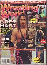 Wrestling World August 1995 Bret Hart, Big Van Vader VG 050416DBE