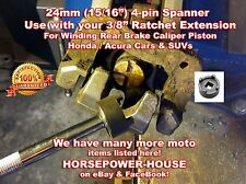 24mm Special Socket Tool Rear Brake Caliper Piston Winder @ Honda Acura Car SUV