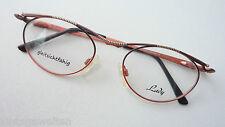 Yabi Spirit Quality Glasses Frames Women's Glasses Unusual Pink-Brown Size M