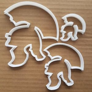 Roman Gladiator Centurion Spartan Cookie Cutter Dough Biscuit Fondant Sharp
