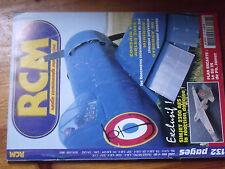 $$2 Revue RCM N°267 PLan encarte Su 25  Simjet 2300 AES  Corsair F4U  Arles