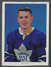 1963-65 Chex Toronto Maple Leafs Hockey Photos #19 Billy Harris