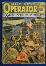 Operator 5  3 Issue Lot 1936  Purple Invasion Stories