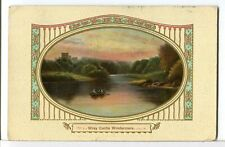 1911 - WRAY CASTLE, on the Banks of Windermere Lake, Cumbria England Postcard