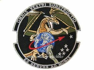 Area 51 USAF Black Ops Signal Military Intelligence Sigint Space Dragon Patch