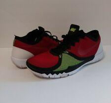 Nike Free 3.0 V4 Training Shoes Men's Size 12 Black Red 749361 066