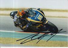 Louis Rossi mano firmado 7x5 Foto Tech 3 Moto 2 MotoGP 14.