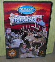 hunting DVD Muzzy's Bad to the Bone Bucks 6