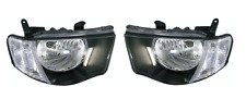 Pair of Headlights L+R clear blinker For Mitsubishi Triton MN (2009-2014)