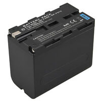 7800mAh Rechargeable Li-ion Battery For Sony NP-F960 NP-F970 Digtal Camera