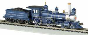 Gauge H0 - Steam Locomotive 4-4-0 Baltimore & Ohio DCC with Sound 52703 Neu