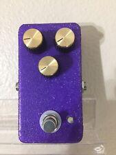 Purple Plexi Glitter Overdrive Pedal