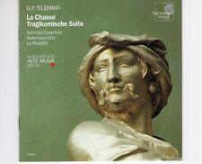 CD G.P. TELEMANN / LA CHASSE TRAGIKOMSCHE SUITEakademie für alte music  (R2068)