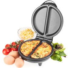 Savisto Electric Omelette Maker Non Stick Egg Cooker Frying Pan Easy Breakfast