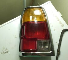 1980 1981 1982 Subaru DL GL WAGON Left Rear Tail Lamp & Bezel - Excellent Shape